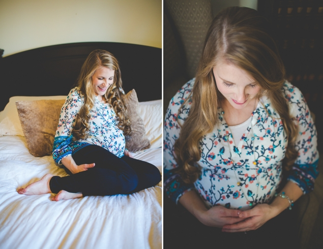 Photo Woman And Newborn In Hotel Room Photographer