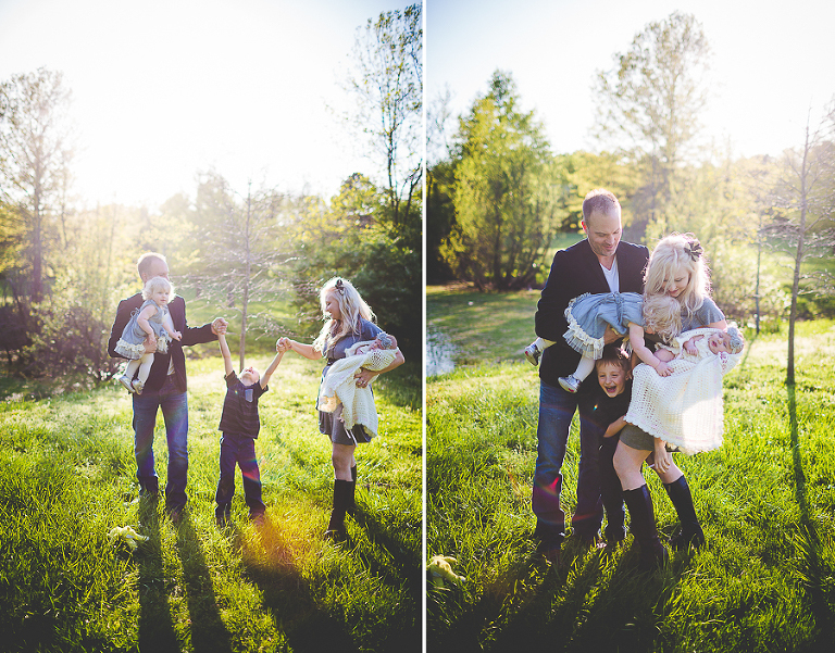 Fayetteville ar family photographer spring family portraits lissachandler com