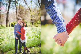 Springtime Engagement Photographs, Lissa Chandler Photography in Arkansas