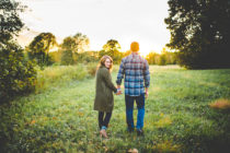 Magic Engagement Photographs in NWA by Fayetteville Wedding Photographer Lissa Chandler