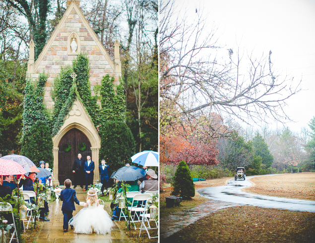 Winter Wedding at St. Catherine