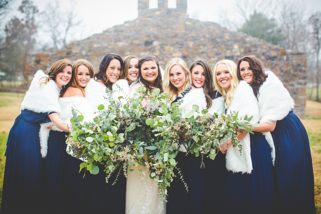Winter Wedding at Sassafras Springs, lissachandler.com