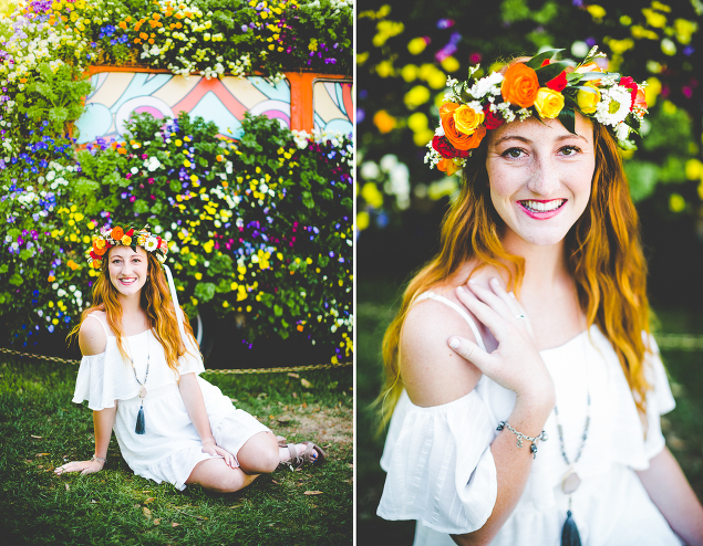 Senior Photographs at the Dallas Arboretum and Botanical Gardens, Lissa Chandler