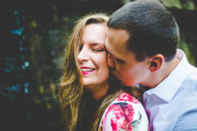 NWA Wedding Photographer in Fayetteville, Spring Engagement Photographs by Lissa Chandler