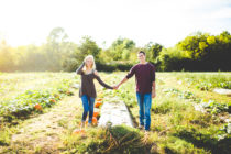 Pumpkin Patch Engagement Session, NWA Wedding Photographer
